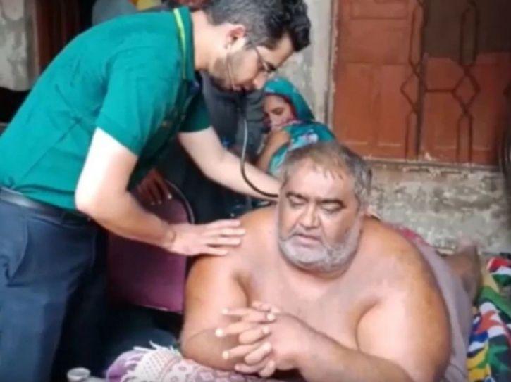 Pakistan Obese Man
