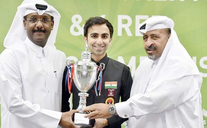 Pankaj Advani Clinched The Asian Snooker Championship