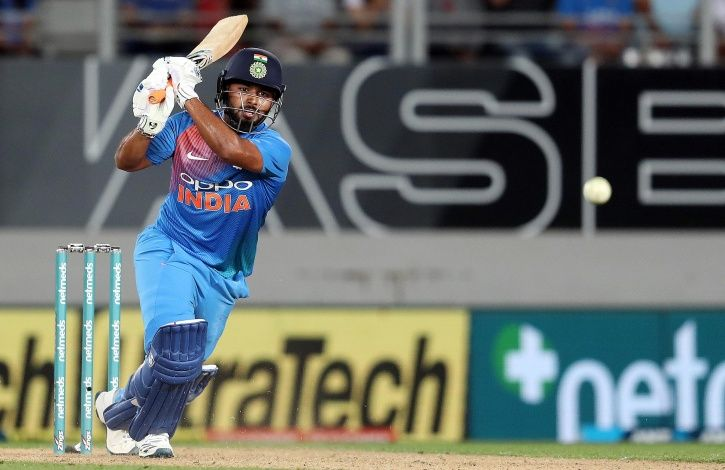Rishabh Pant was not part of the squad