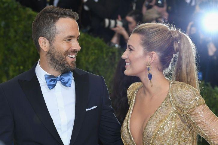 Ryan Reynolds and Blake Lively.