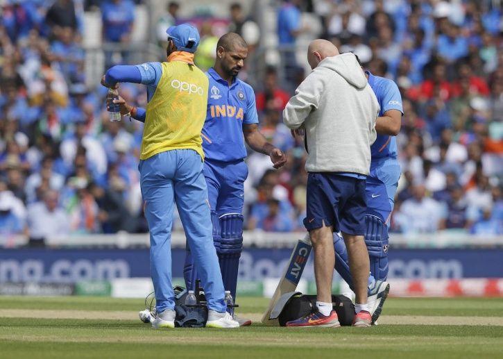 Shikhar Dhawan made 117 vs Australia