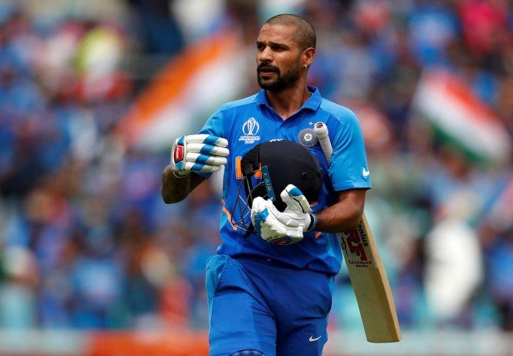 Shikhar Dhawan World Cup 2019