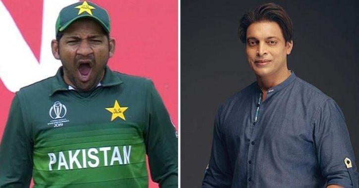 Shoaib Akhtar and Sarfaraz Ahmed