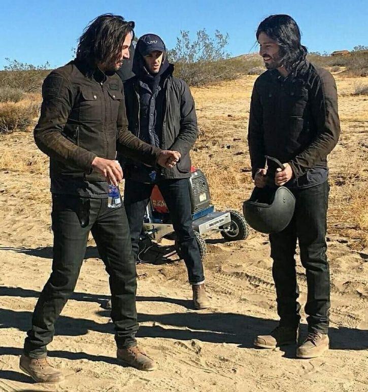Stuntdouble and John Wick star Keanu Reeves.