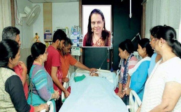 surat brain dead woman donate organs