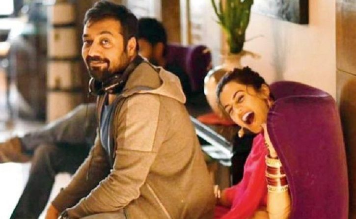 Taapsee Pannu and Anurag Kashyap are best friends forever.