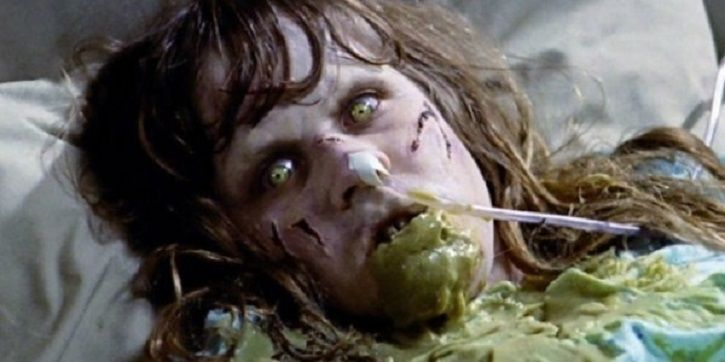 The Exorcist vomiting scenes VS The Perfection.
