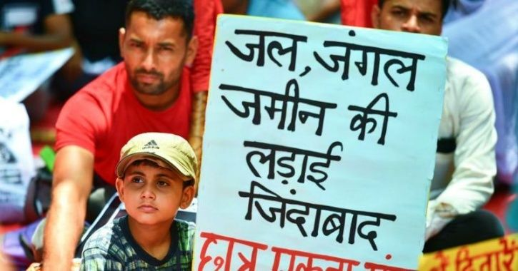 Thousands Of Tribals Are Protesting Mining By Adani Group On 'Sacred Hill' In Chhattisgarh