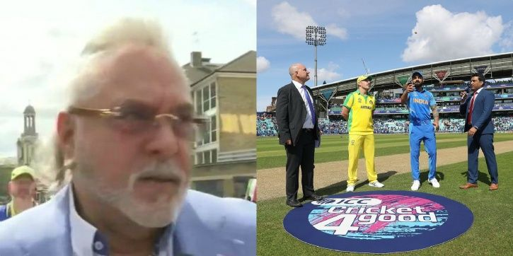 Vijay Mallya is known to attend games