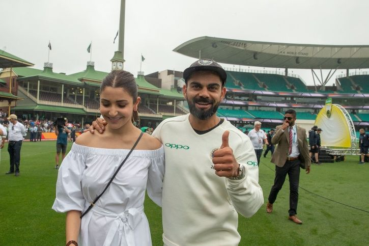 Virat and Anushka Sharma