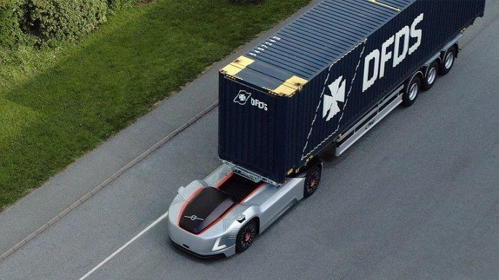 Volvo Vera, Volvo Autonomous Truck, Volvo Electric Truck Fleet, Self Driving Truck, Volvo Transporta