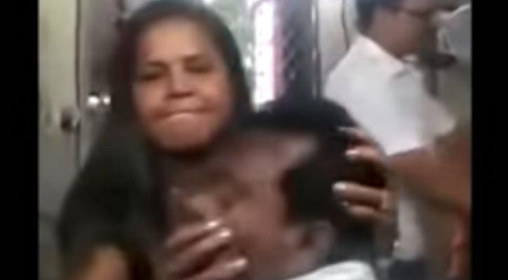 woman beat clerk