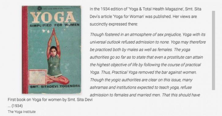 world yoga day, google arts and culture, virtual yoga museum, history of yoga, yogi, best yoga instr
