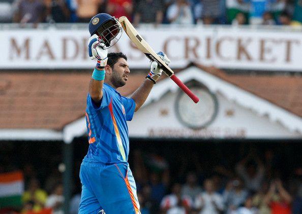 Yuvraj Singh plays well under pressure