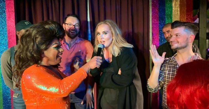 Adele and Jennifer Lawrence