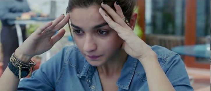 Alia Bhatt in Dear Zindagi.