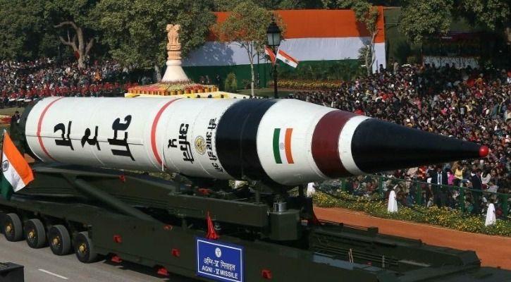 anti-satellite missile Agni V