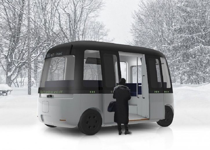 Autonomous Technology, Autonomous Shuttle Bus, Self Driving Technology, Autonomous Bus, Autonomous M