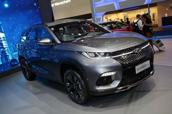 Baidu. Chery Automobiles, AI Powered Electric Car, Exeed TX Electric, China Electric Cars, Electric