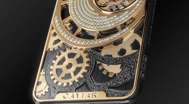 Caviar limited edition iPhone