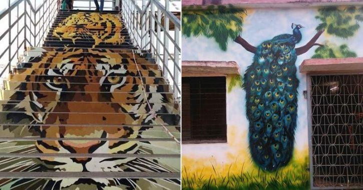 Chandrapur Railway Station beautification