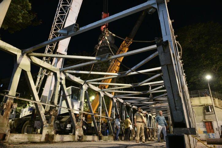CST Foot Over Bridge