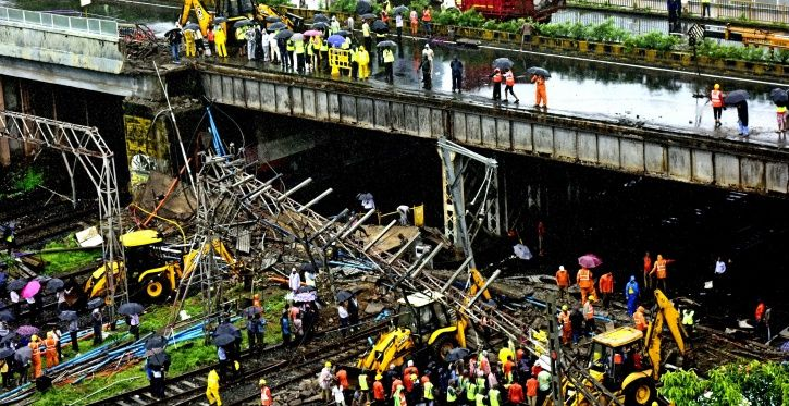 Dilapidated Foot Over Bridges In Maharashtra Have Killed More Than 30 People In Just Over A Year