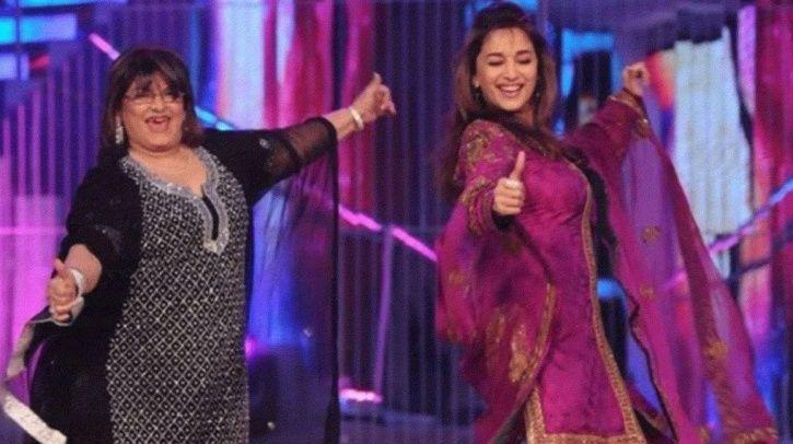 Even After A Tiff, Salman Khan Comes To Saroj Khan