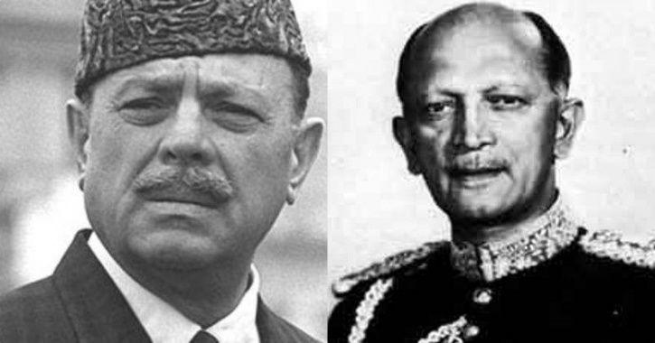 Field Marshal KM Cariappa and General Ayub Khan