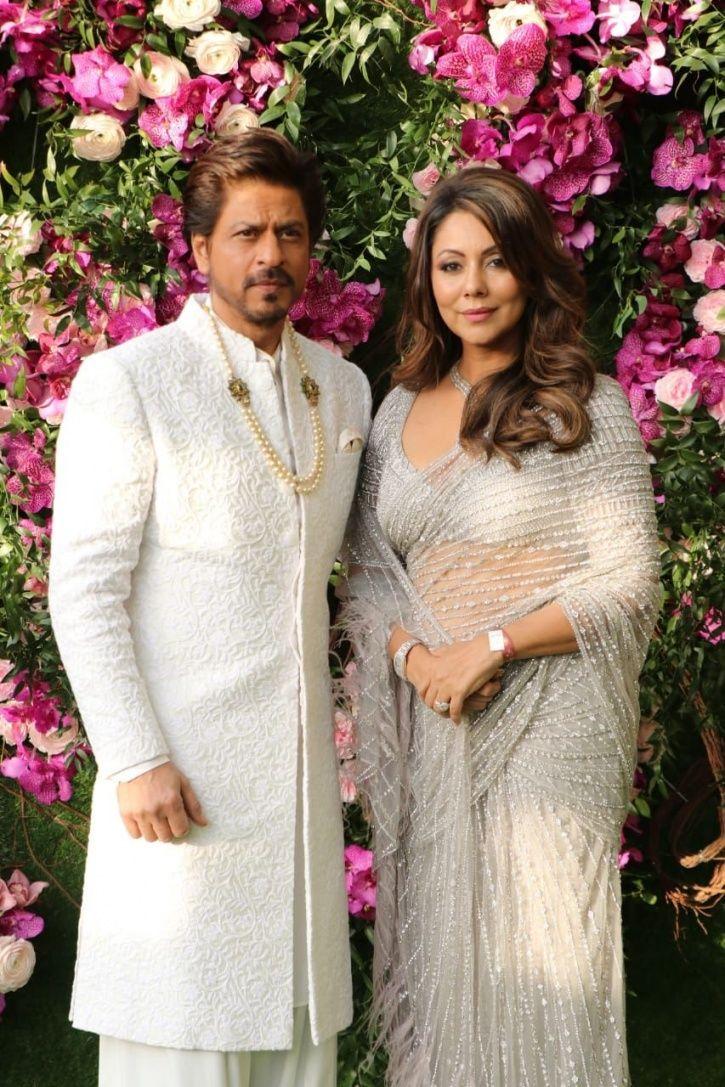 From SRK To Ranbir Kapoor, Celebs Make Glitzy Appearance At Akash Ambani-Shloka Mehta's Wedding