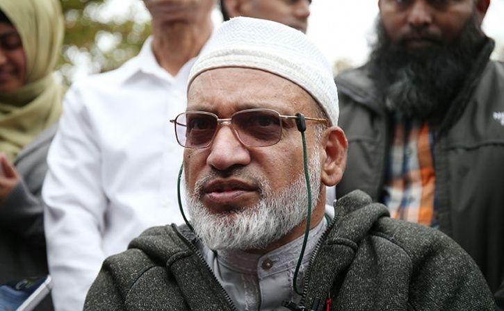 husband of mosque attack victim