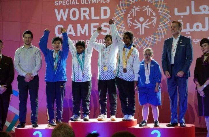 India have won 188 medals