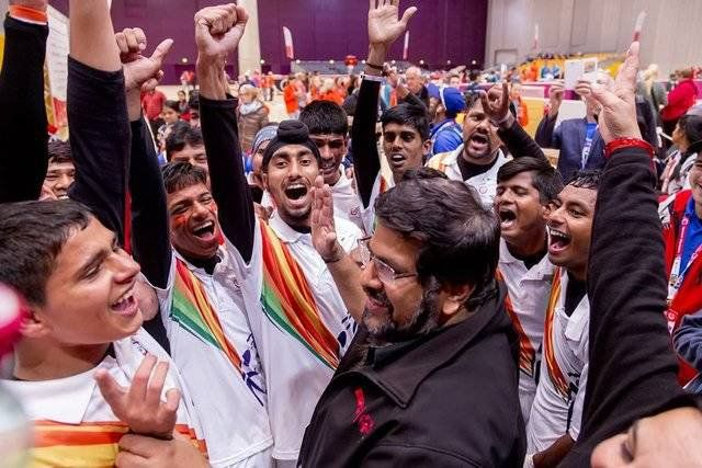 India won 233 medals in Special Olympics