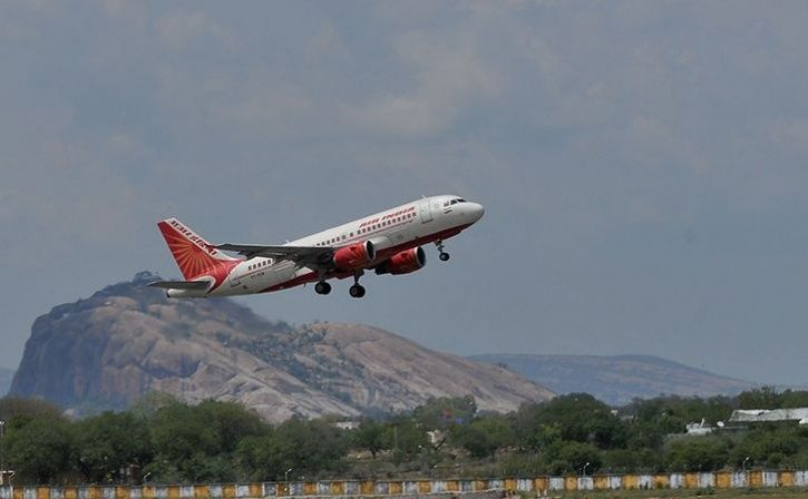 jai hind chant after every announcement on air india flight