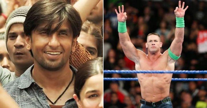 John Cena and Ranveer Singh