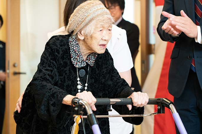 Kane Tanaka, Japan, Guinness World Records, oldest living person, 116 years old