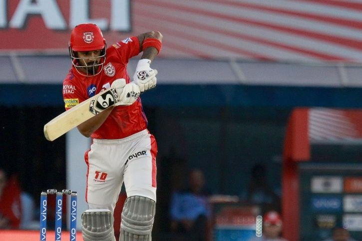 KL Rahul made 71 not out