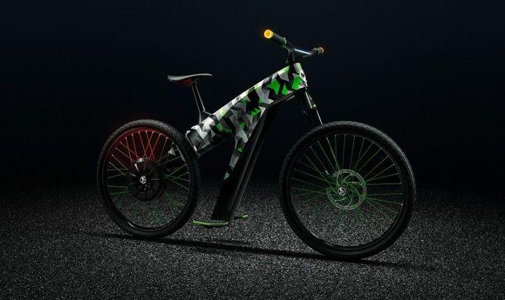 ŠKODA KLEMENT, Skoda Electric Bike, Skoda Electric Two Wheeler, Geneva Motor Show 2019, Skoda Electr