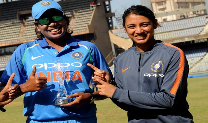 Mandhana and Goswami are ruling the roost