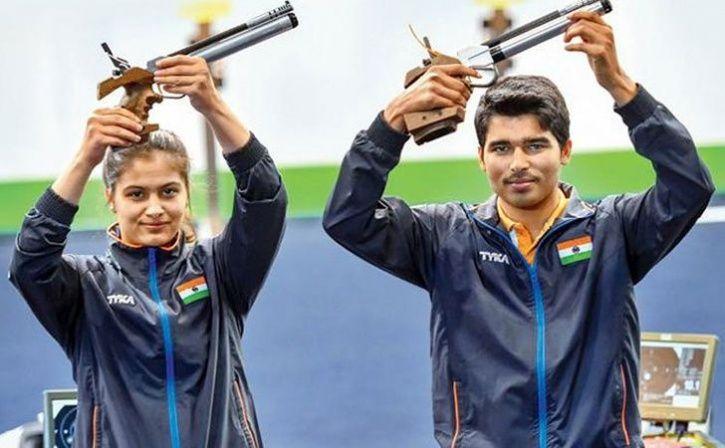 Manu Bhaker And Saurabh Chaudhury Both Shoot Gold