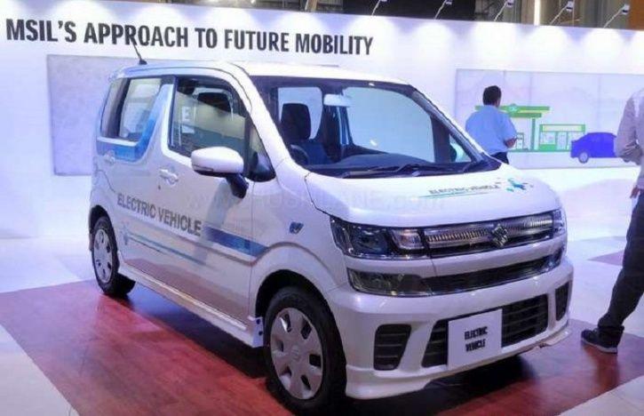 Maruti Suzuki WagonR Electric, Maruti Suzuki Solio Hybrid, Electric WagonR, Electric WagonR Images,