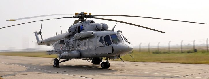 Mi-17-V5 helicopters