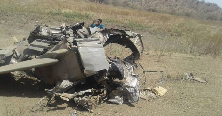 MiG 27 Aircraft Crashes