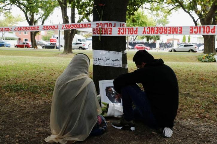 mosque attack victims family
