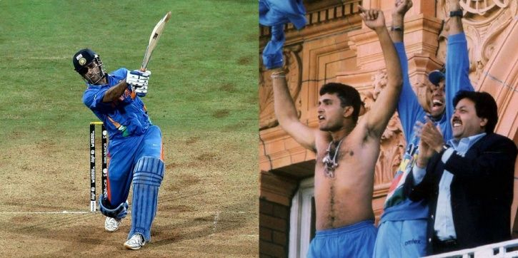 MS Dhoni won the World Cup with a six