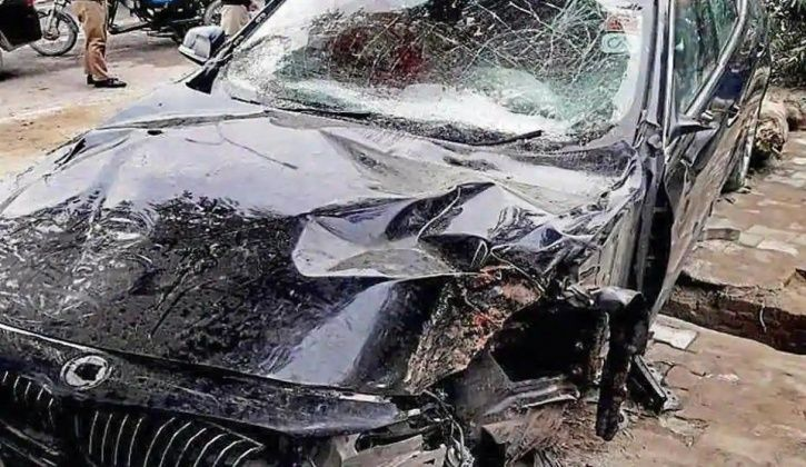 Noida BMW Accident