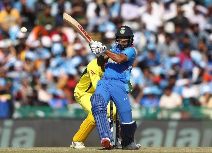 Shikhar Dhawan made 143