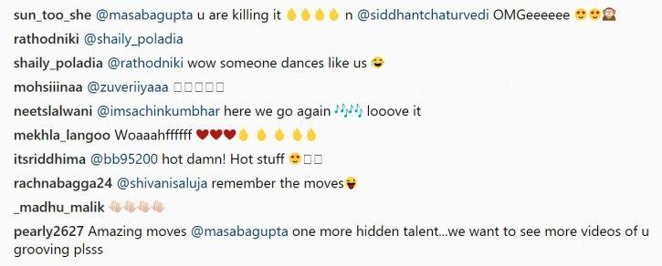 Siddhant Chaturvedi and Masaba Gupta dance on Dilbar.