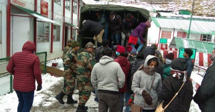 Sikkim tourists
