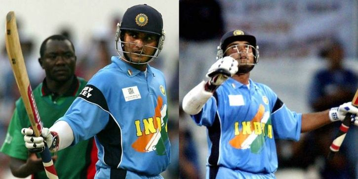Sourav Ganguly made 111 not out